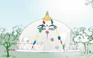 Artists Impression of the Dome