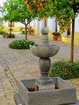Fountain at Suryalila